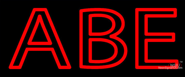 Alpha Beta Epsilon Neon Sign