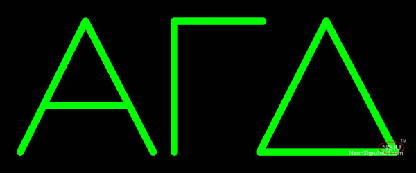 Alpha Gamma Delta Neon Sign