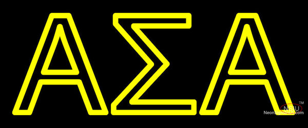 Alpha Sigma Alpha Neon Sign