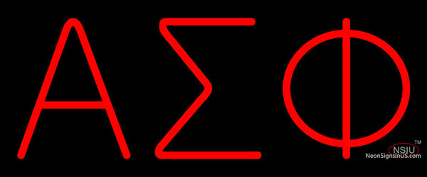 Alpha Sigma Phi Neon Sign