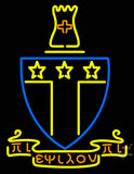 Alpha Tau Omega Logo Neon Sign