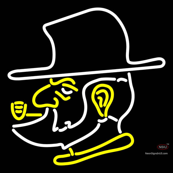 Appalachian State Mountaineers Alternate  Pres Logo NCAA Neon Sign
