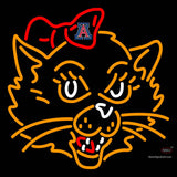 Arizona Wildcats Mascot  Pres Logo NCAA Neon Sign