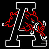 Arkansas Razorbacks Alternate 7  Logo NCAA Neon Sign