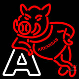 Arkansas Razorbacks Primary   Logo NCAA Neon Sign x