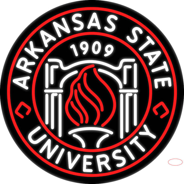 Arkansas State University Real Neon Glass Tube Neon Sign