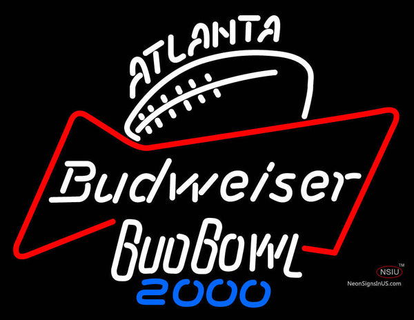 Atlanta Budweiser Budbowl  Neon Sign