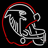 Atlanta Falcons Helmet   Logo NFL Neon Sign