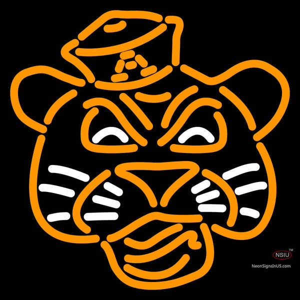 Auburn Tigers Primary 7 7 Logo NCAA Neon Sign x