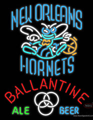 Ballantine New Orleans Hornets Neon Beer Sign