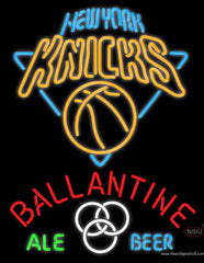Ballantine New York Knicks Neon Beer Sign