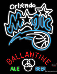 Ballantine Orlando Magic NBA Neon Beer Sign