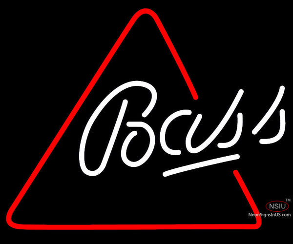 Bass Triangle Neon Beer Sign x