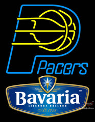 Bavarian Indiana Pacers NBA Neon Beer Sign