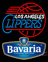 Bavarian Los Angeles Clippers Neon Beer Sign