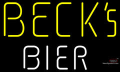 Becks Bier Neon Beer Sign
