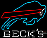 Becks Buffalo Bills NFL Neon Sign
