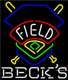 Becks Field Colorado Rockies Neon Sign