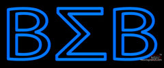 Beta Sigma Beta Neon Sign