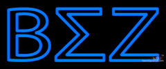 beta sigma zeta neon sign