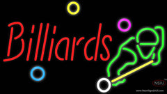 Billiards Boy Real Neon Glass Tube Neon Sign