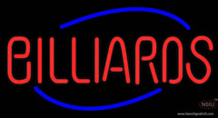 Billiards Oval Real Neon Glass Tube Neon Sign