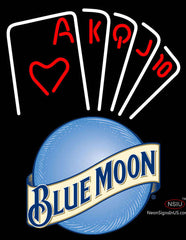 Blue Moon Poker Series Neon Sign