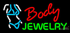 Body Jewelry Bikini Neon Sign