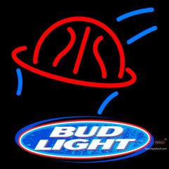 Bud Light Basketball Neon Beer Sign