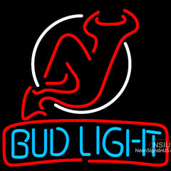 Bud Light Jersey Devil Neon Beer Sign x
