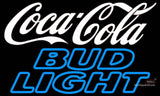 Bud Light Neon Coca Cola White Neon Sign