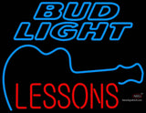 Bud Light Neon GUITAR Lessons Neon Sign