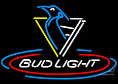 Bud Light Penguins Neon Signs