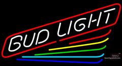 Bud Light Rainbow Neon Beer Sign