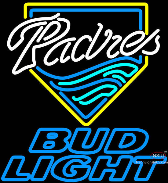 Bud Light San Diego Padres MLB Neon Sign