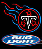 Bud Light Tennessee Titans NFL Neon Sign