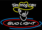 Bud Light Tim Mcgraw Neon Beer Signs