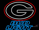 Bud Light University of Georgia neon sign