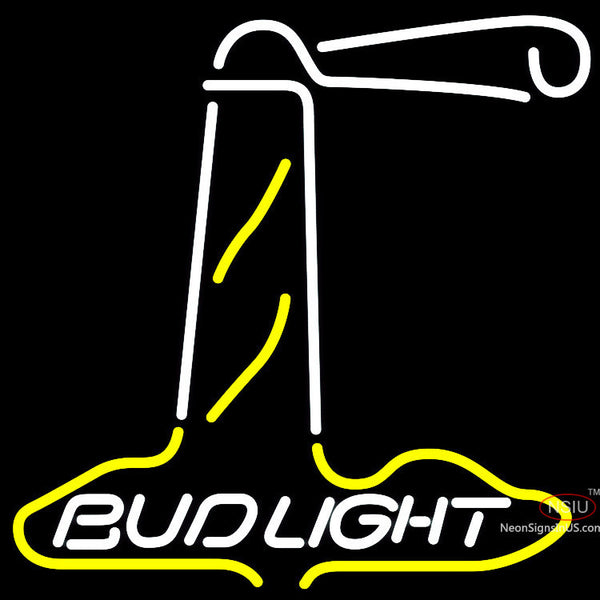 Bud Light Wight Lighthouse Neon Sign x