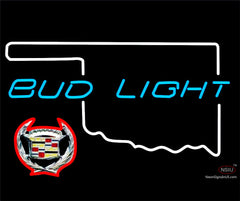 Budlight Oklahoma Calidac  Neon Sign