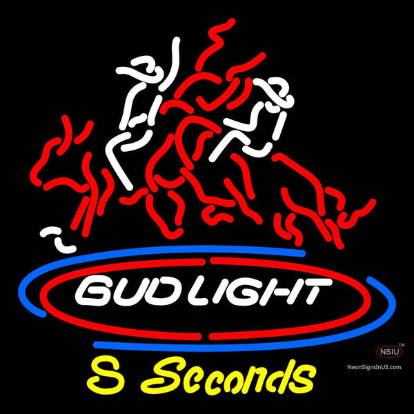 Budlight Seconds Neon Sign