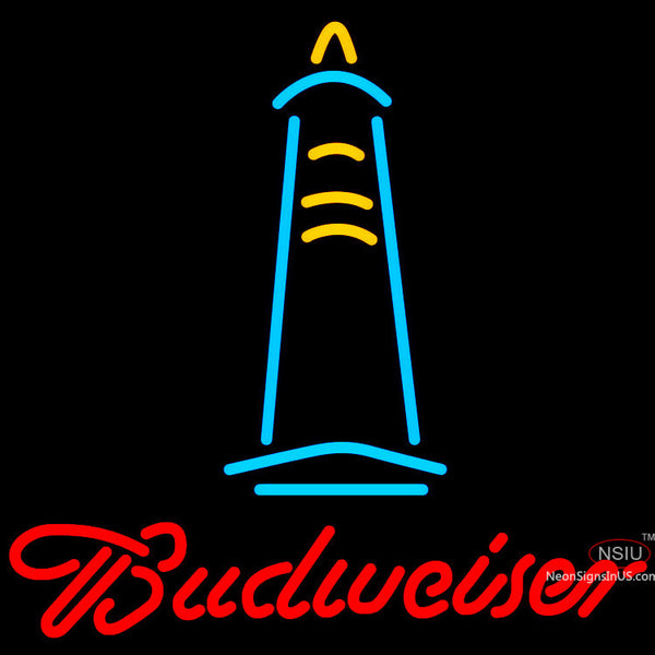 Budweiser Lighthouse Neon Sign x