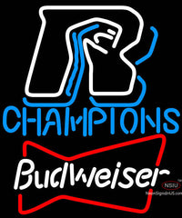 Budweiser Arizona Rattlers Champions Neon Beer Sign
