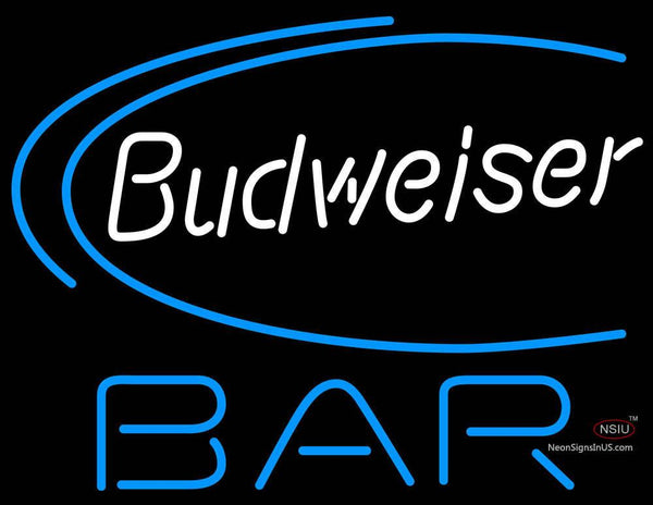 Budweiser Beer Bar Neon Sign