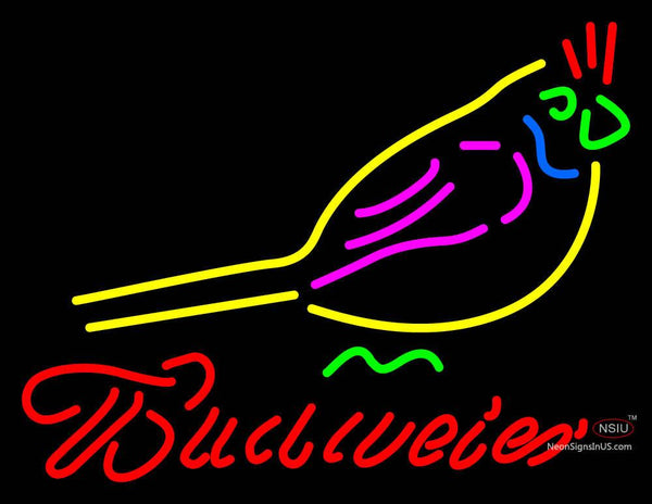 Budweiser Beer Little Red Bird Neon Sign