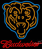Budweiser Chicago Bears NFL Neon Sign