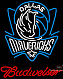 Budweiser Dallas Mavericks NBA Neon Sign