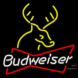 Budweiser Deer Neon Beer Sign  x