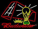 Budweiser Football Neon Sign