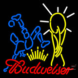Budweiser Footballer Neon Sign